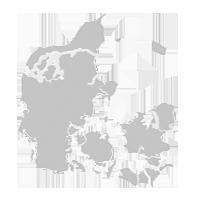 Dänemark Nordseeküste Karte.Landkarte Mit Private Ferienhäuser In Ganz Dänemark Hier Buchen